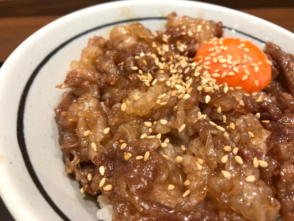丸亀製麺 神戸牛すき焼き丼