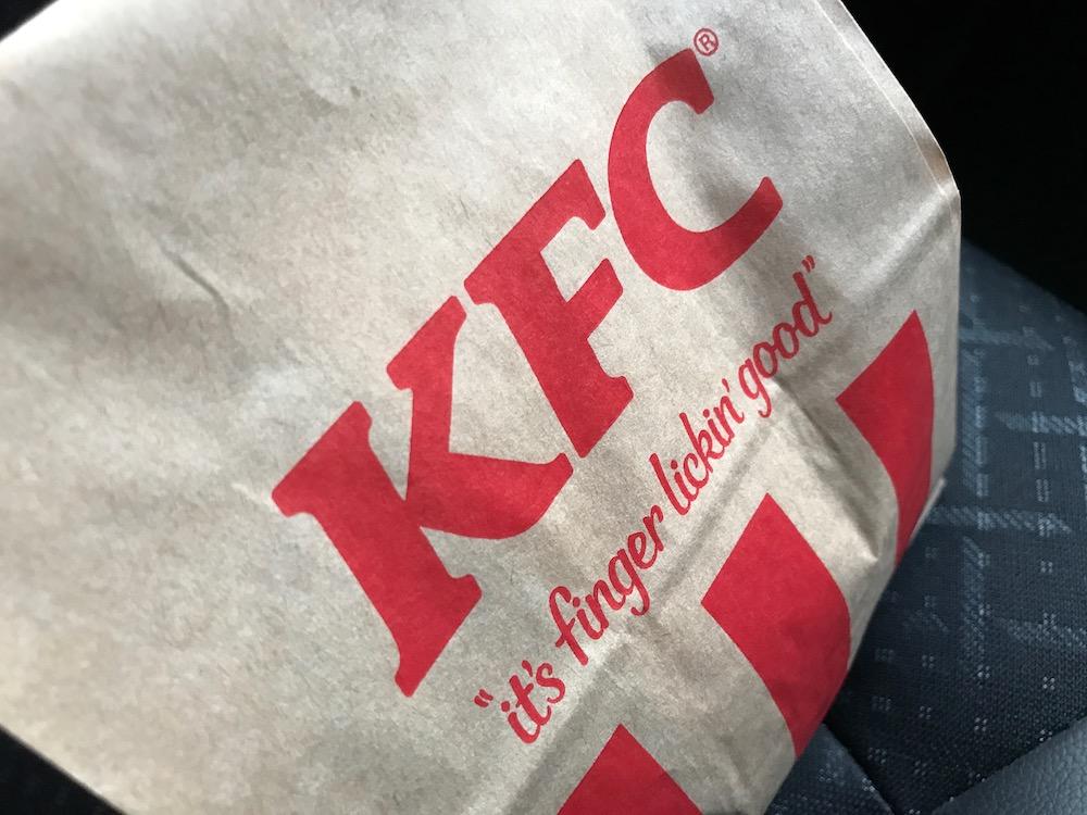 ケンタッキーフライドチキン 紙袋