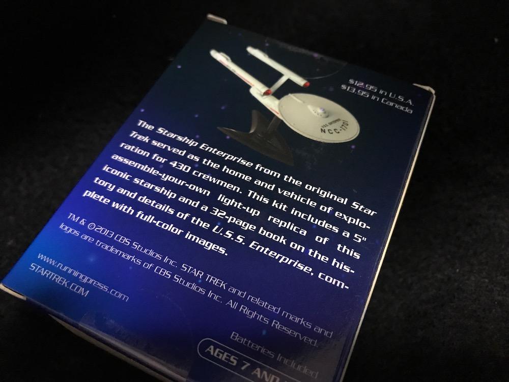 Star Trek: Light-Up Starship Enterprise 箱裏