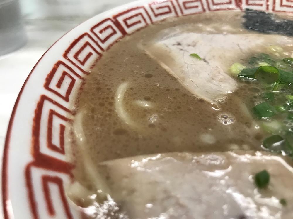 一光軒 ラーメン スープ