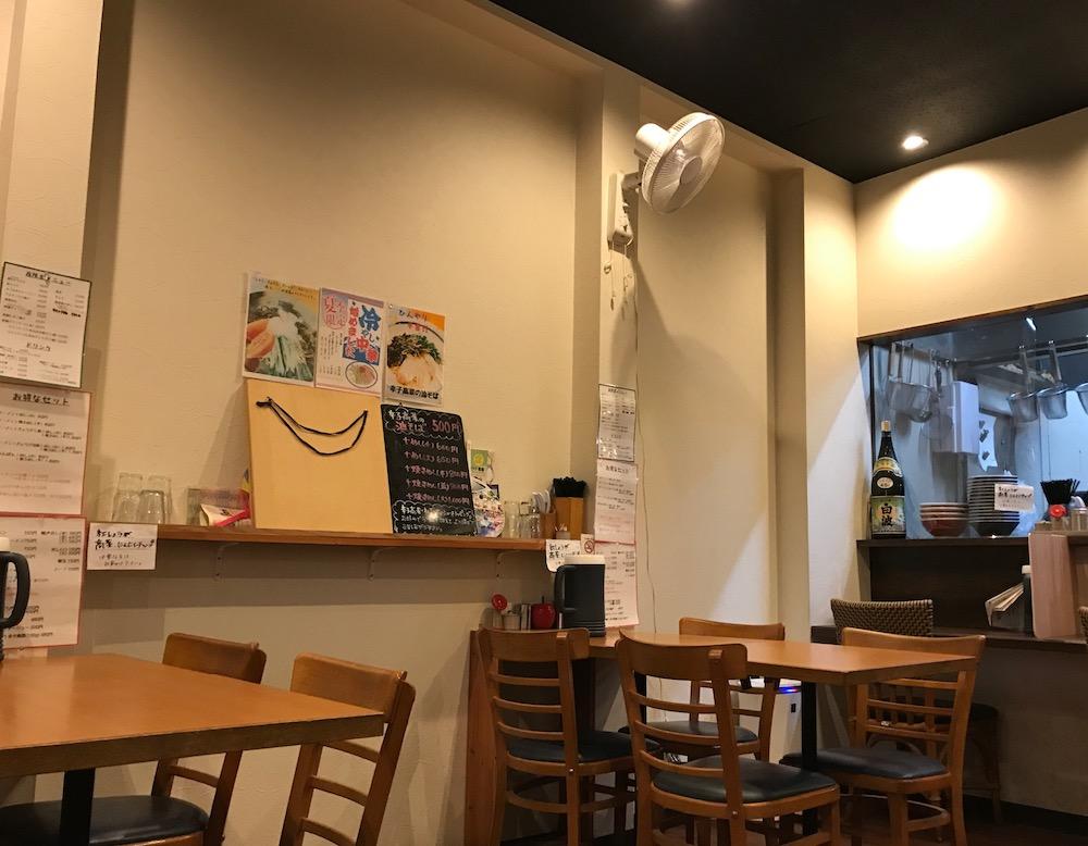 花畑丸福 店内