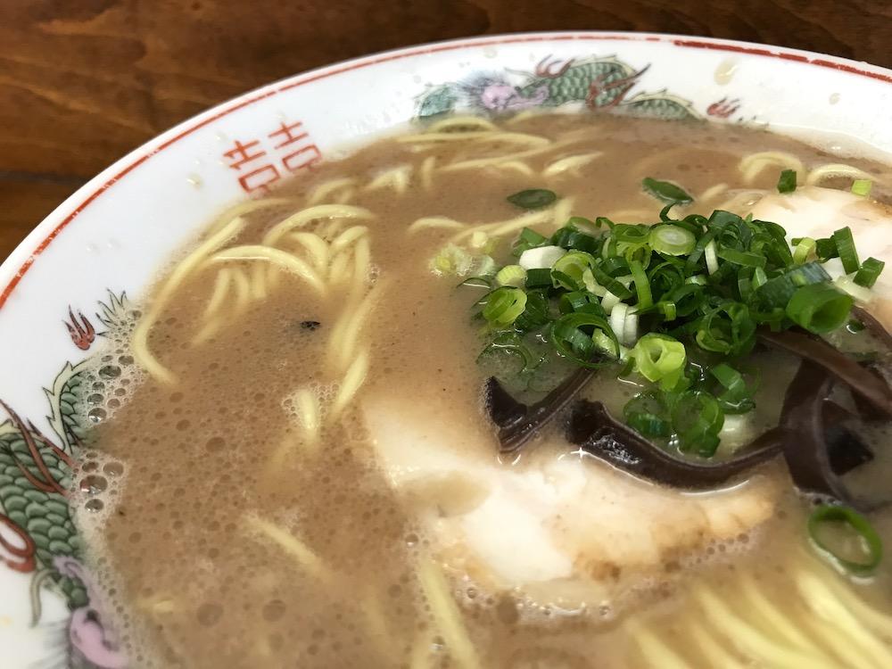 田の久 ラーメン スープ