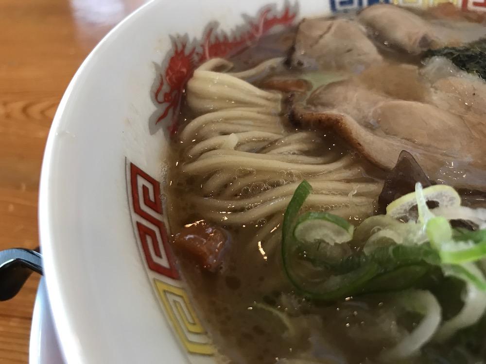 明日香大和店 英龍麺 麺
