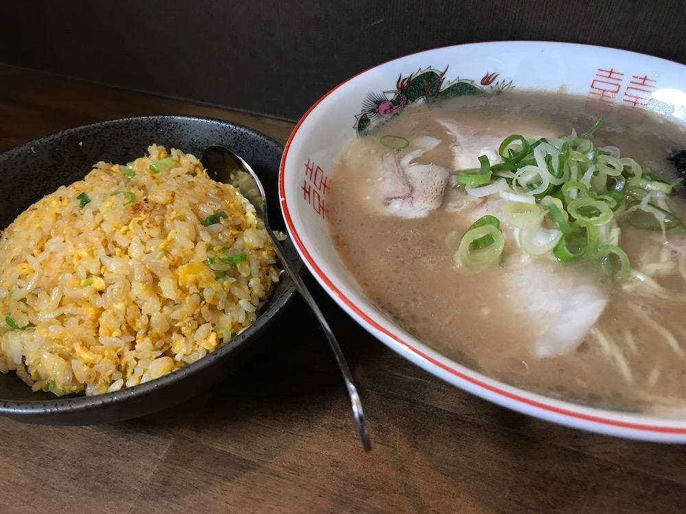 麺屋ぷいぷい 鍋島 半炊飯セット