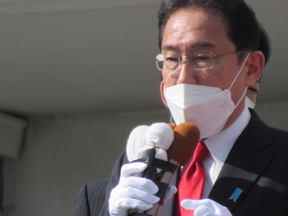 岸田文雄総裁きたる 佐賀市 岸田総理総裁