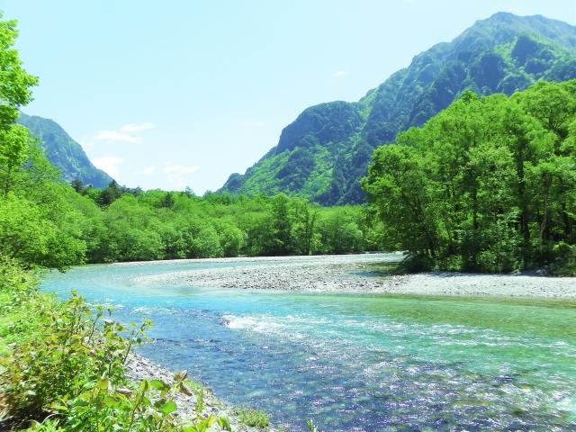 天然水 山の川