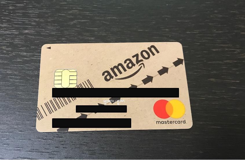 Amazonクレジットカード画像