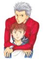 fate アーチャーと士郎