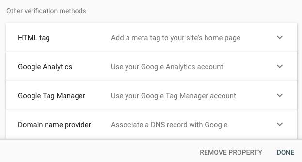 URL prefix verify other option
