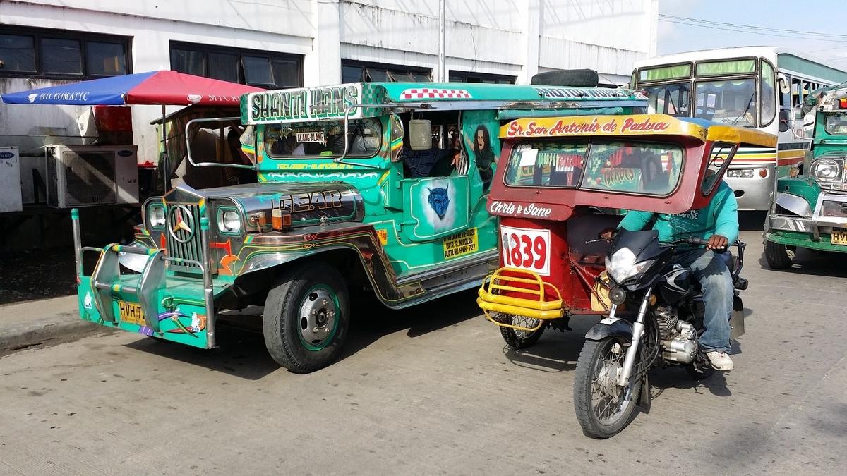 フィリピン ジープ