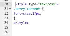 スマホ 文字の大きさ CSS