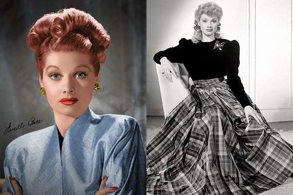 177ルシル・ボールLucille Ball:plain