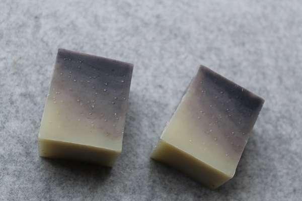201604夜空と星の石けん(Layered soap)