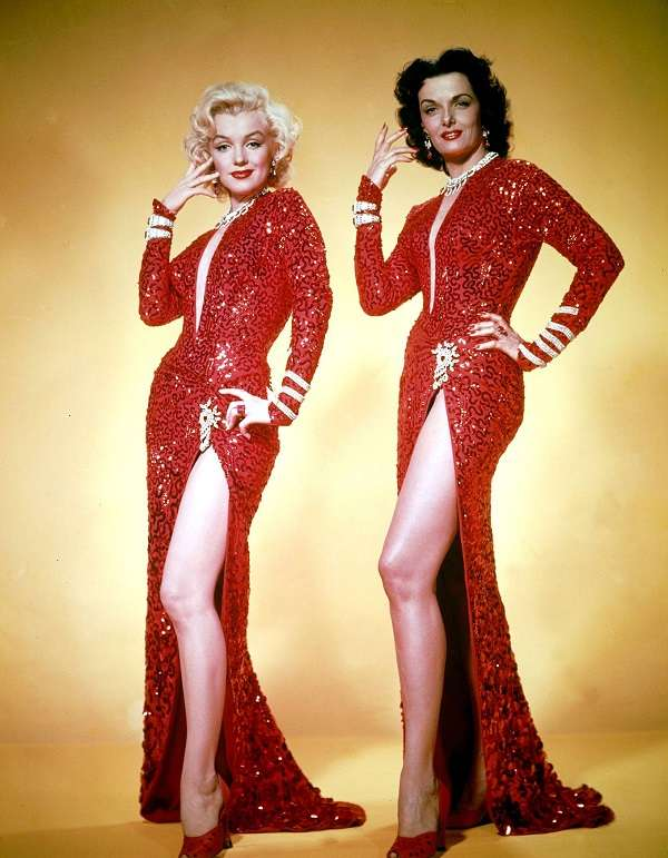 marilyn monroe Gentlemen Prefer Blondes:plain