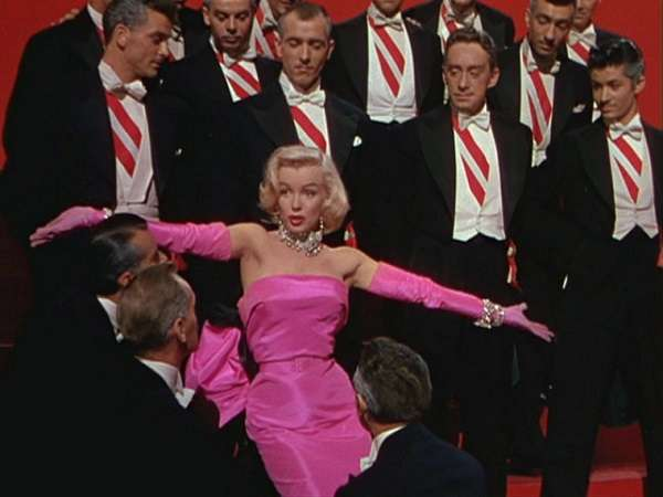 marilyn monroe Gentlemen Prefer Blondes:plain