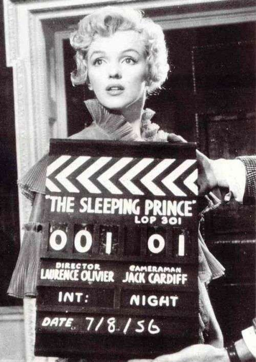 marilyn monroe The Prince and the Showgirl2:plain