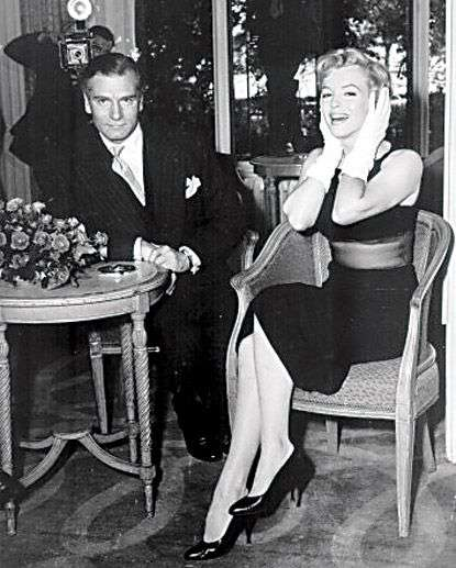 marilyn monroe The Prince and the Showgirl5:plain