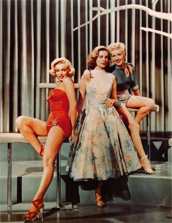 marilyn monroe How to Marry a Millionaire4:plain