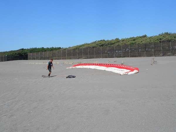 パラグライダー体験7・準備4