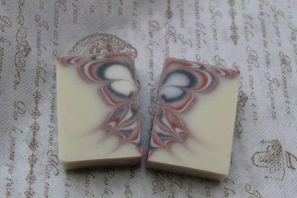201612バタフライスワール石けん(Butterfly Swirl Soap)