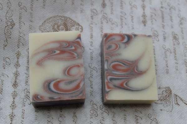 201612バタフライスワール石けん2(Butterfly Swirl Soap)