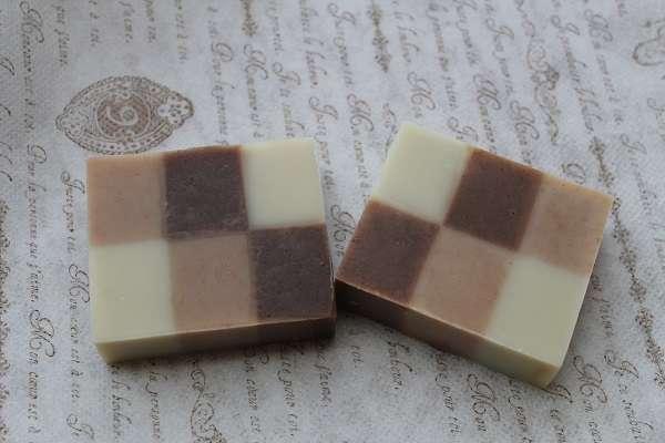 20161219柿渋の6色石けん(6 Color Persimmon Tannin Soap)