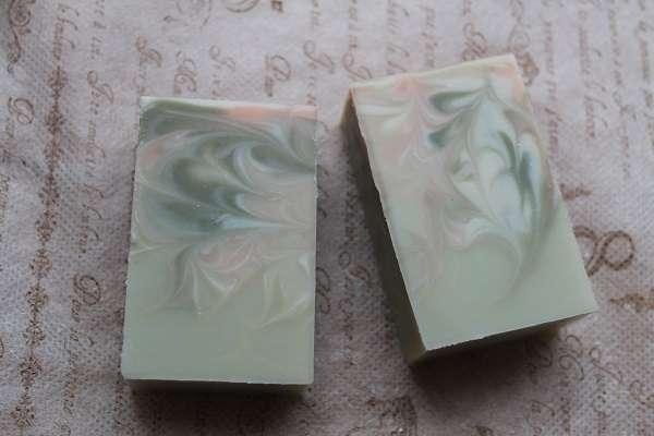20170723マントラスワール石けん(Mantra Swirl Soap)