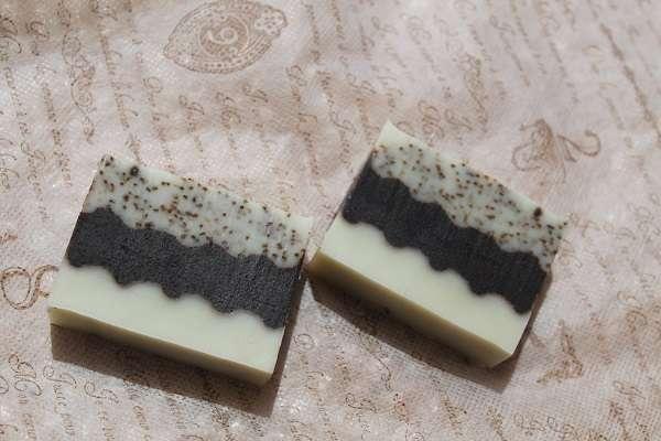20170725なみなみ3段石けん(Sculptured Layered Soap)
