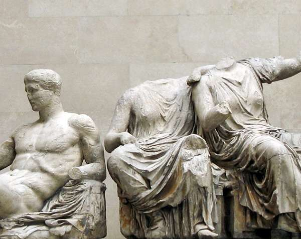 British Museum パルテノンの彫刻 Parthenon sculptures1