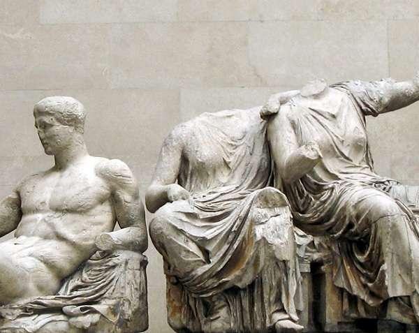 British Museum パルテノンの彫刻 Parthenon sculptures