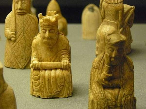 British Museum ルイス島のチェス駒 Lewis Chessmen1