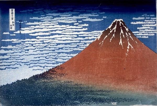 British Museum 葛飾北斎「凱風快晴」Katsushika Hokusai Clear Day with a Southern Breeze