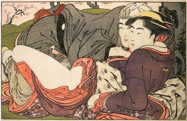 British Museum 喜多川歌麿「歌まくら」Kitagawa Utamaro Poem of the Pillow