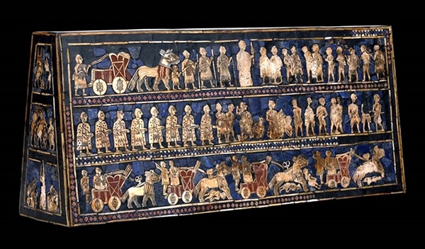 British Museum ウルのスタンダード Standard of Ur1