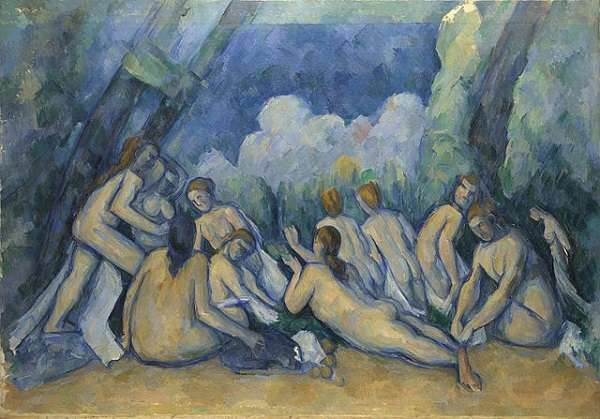 The National Gallery Bathers (Les Grandes Baigneuses)  Paul Cézanneabout