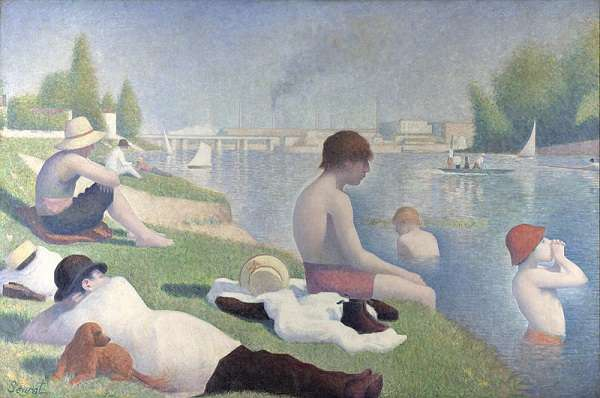 The National Gallery Bathers at Asnières  Georges Seurat