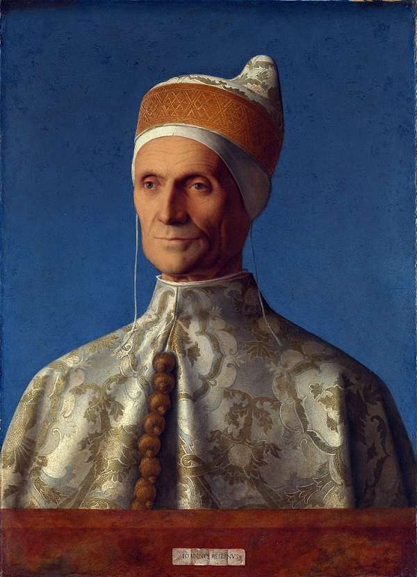 The National Gallery Doge Leonardo Loredan  Giovanni Bellini