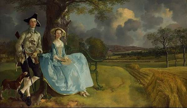 The National Gallery Mr and Mrs Andrews  Thomas Gainsborough