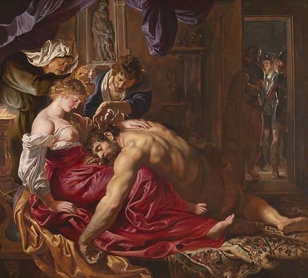 The National Gallery Samson and Delilah  Peter Paul Rubensabout