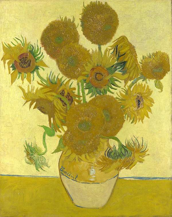 The National Gallery Sunflowers  Vincent van Gogh