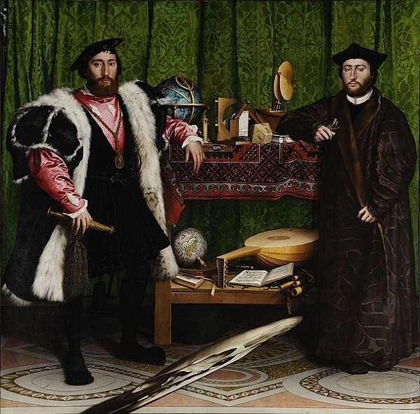 The National Gallery The Ambassadors  Hans Holbein the Younger