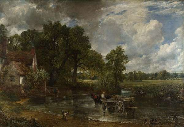 The National Gallery The Hay Wain  John Constable