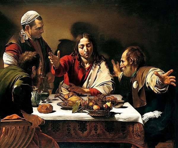The National Gallery The Supper at Emmaus  Michelangelo Merisi da Caravaggio