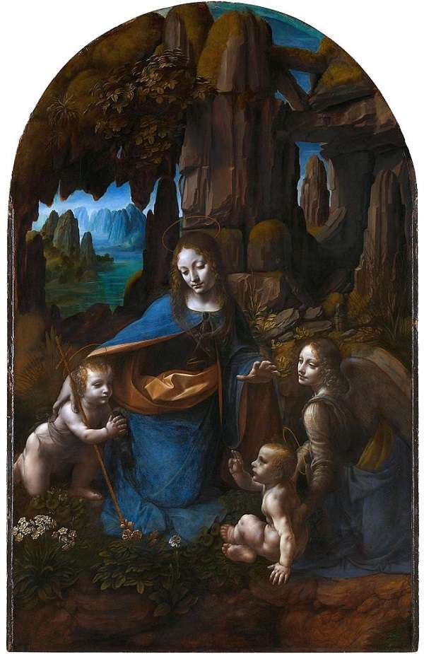 The National Gallery The Virgin of the Rocks Leonardo da Vinci