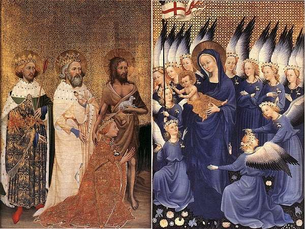 The National Gallery The Wilton Diptych