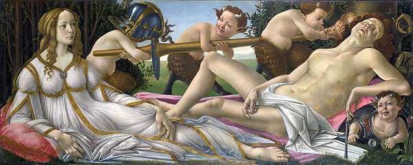 The National Gallery Venus and Mars  Sandro Botticelli