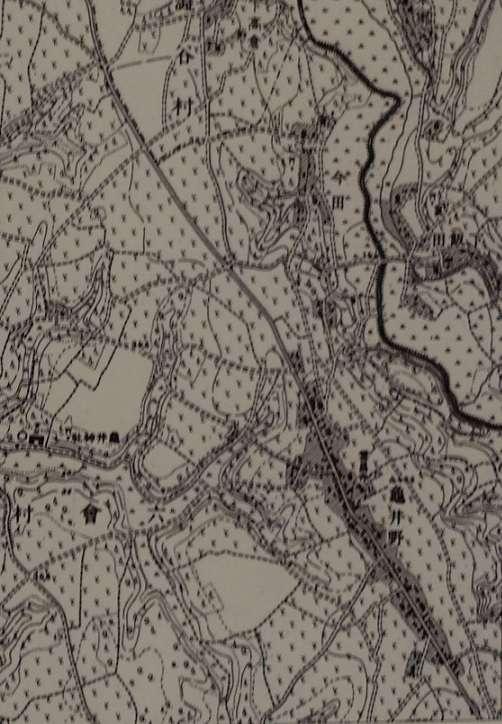 昭和2年長後周辺地図