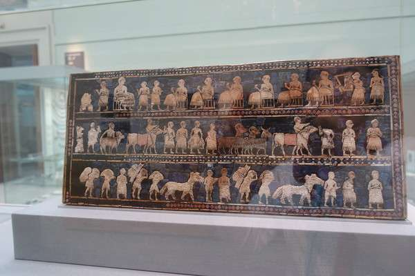 British Museum ウルのスタンダード Standard of Ur2