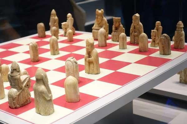 British Museum ルイス島のチェス駒 Lewis Chessmen2