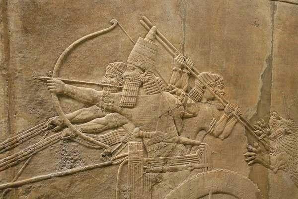 British Museum アッリシアのライオンのレリーフ The Royal lion hunt reliefs4